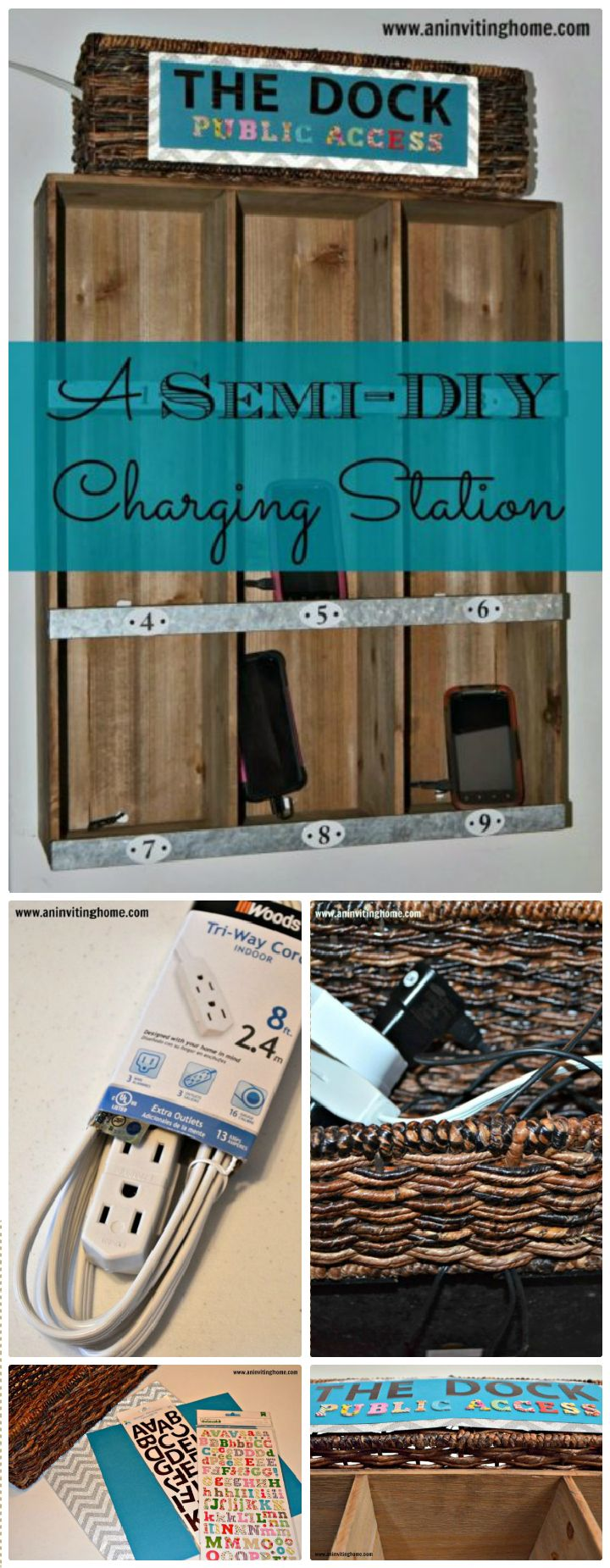 Semi-DIY Charging Station