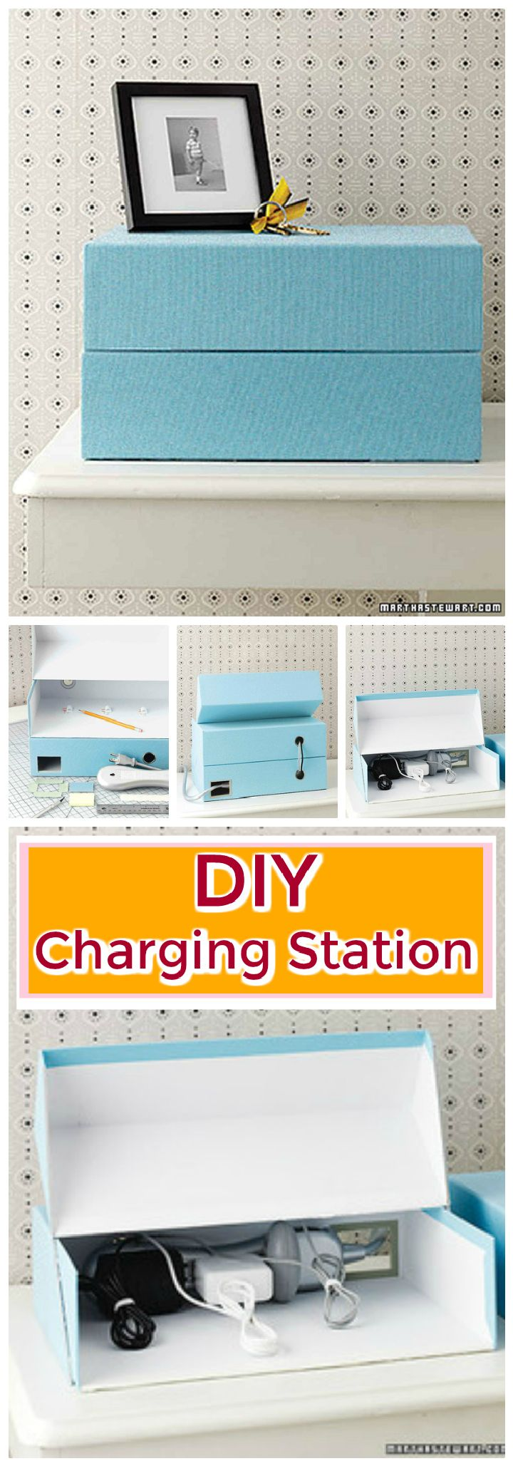 Shoe Box Charging Station