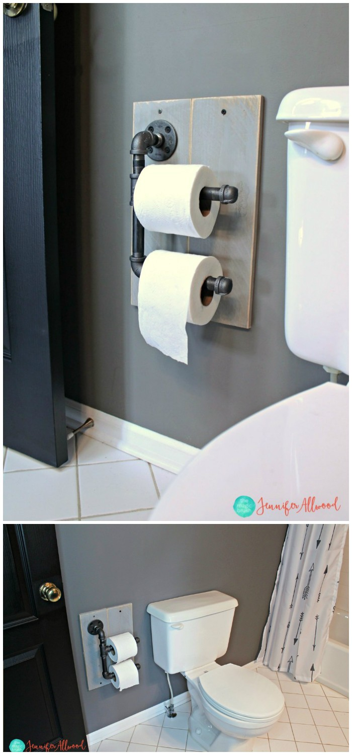 Diy Toilet Paper Holder Ideas Add Decor To Bathroom