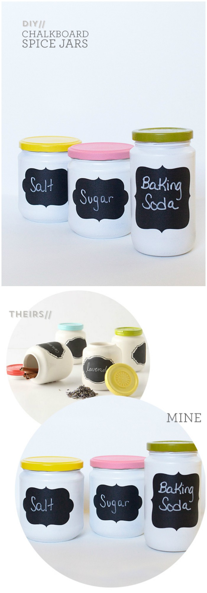DIY Chalkboard Jars Cheap Projects For Your Home Decoration