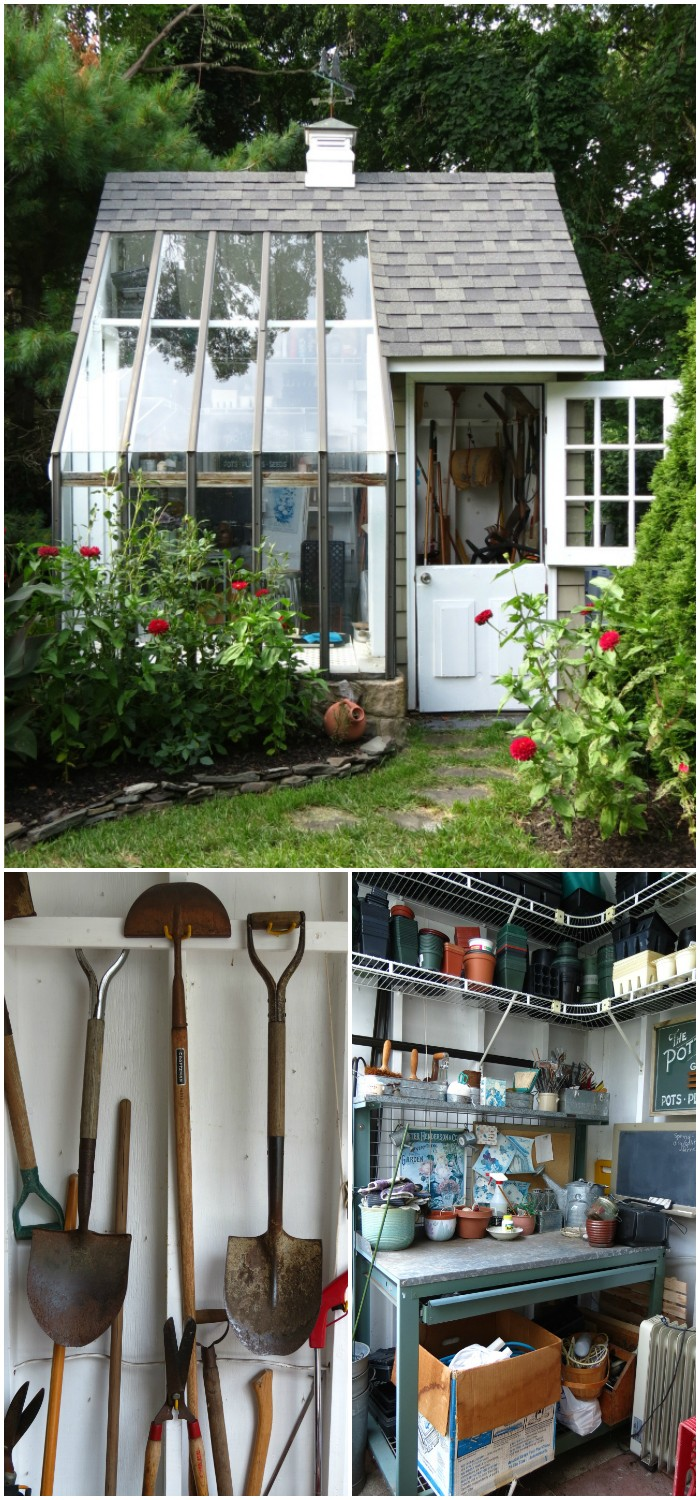 DIY Multifunctional Potting Shed