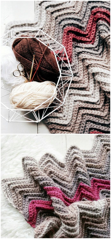 Barton Blanket Crochet Pattern