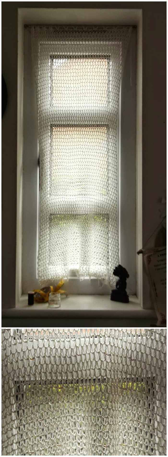 Beaded Net Curtains Free Crochet Curtain Patterns For Your Home Decor