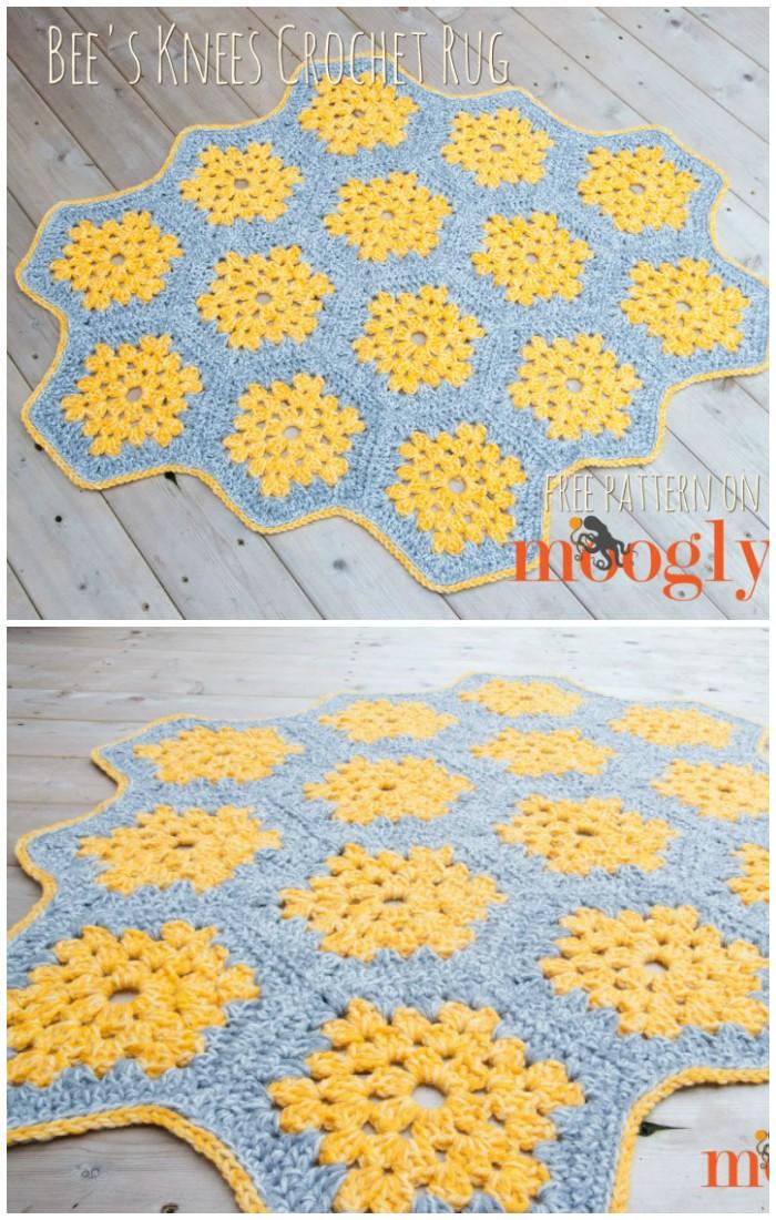 Gorgeous Crochet Rug Patterns Free Patterns Diy Home Decor