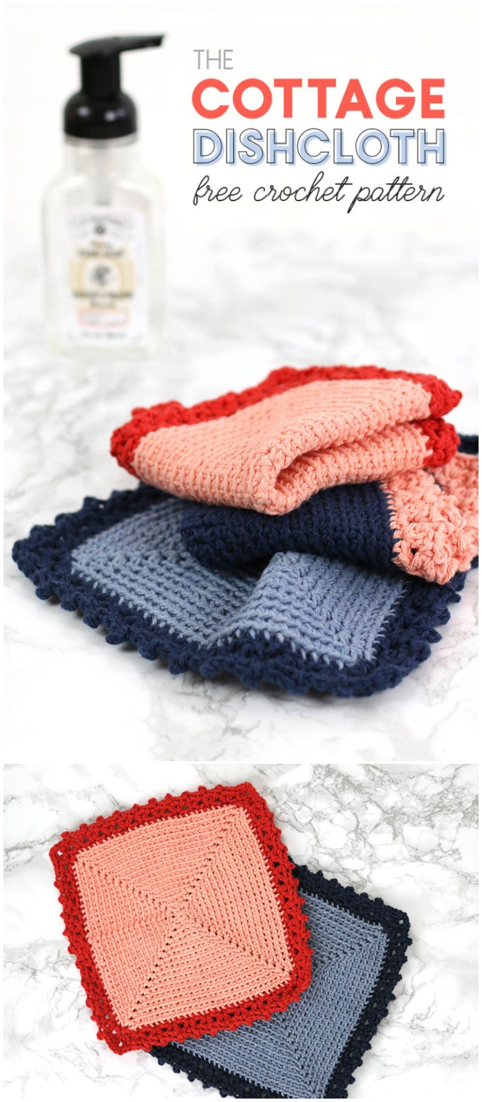 Cottage Dishcloth