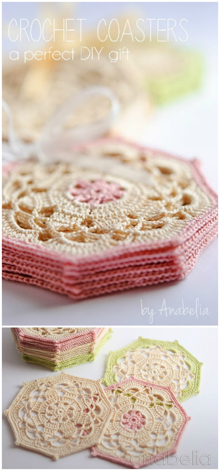 Crochet Coasters Sets