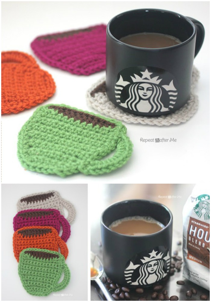 Crochet Coffee Coasters