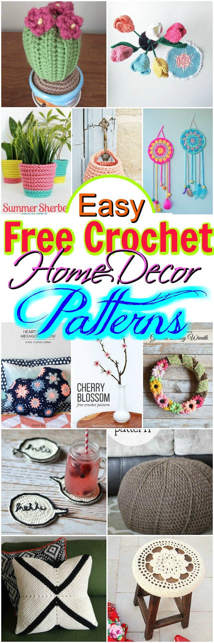Crochet Home Decor Patterns
