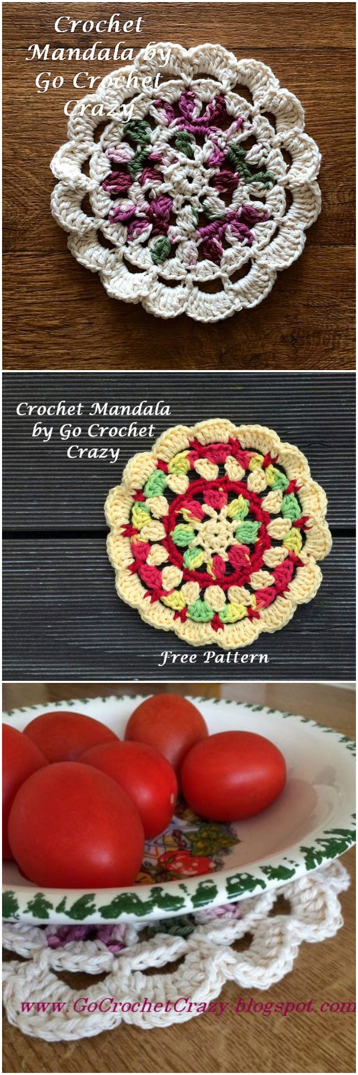 Crochet Mandala Pattern Stunning Free Crochet Mandala Patterns