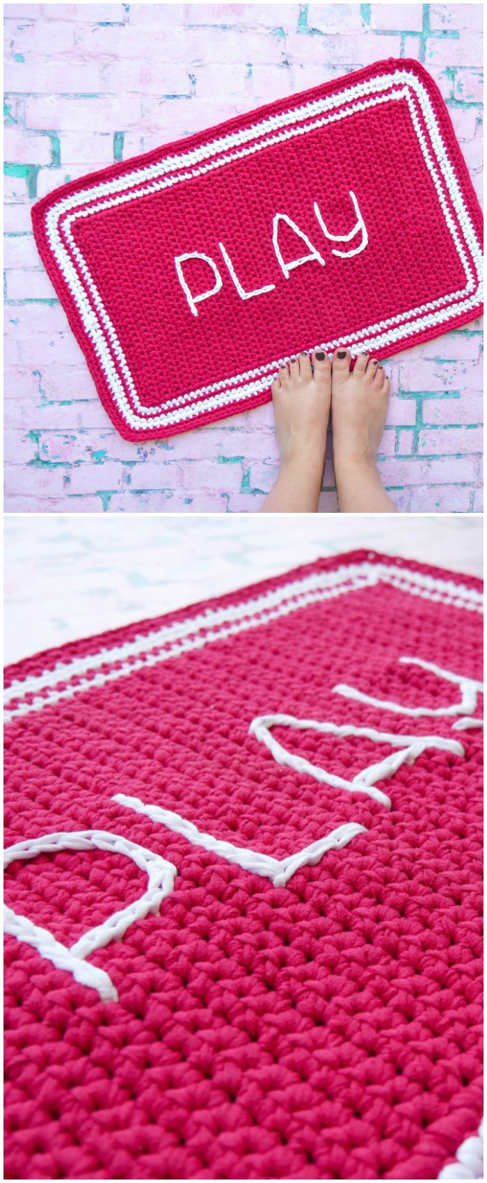 Crochet Outdoor Rug Free Crochet Pattern From Home To Accessories