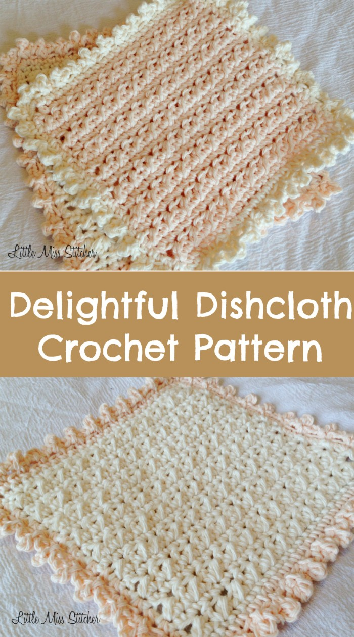 Delightful Dishcloth Crochet Pattern
