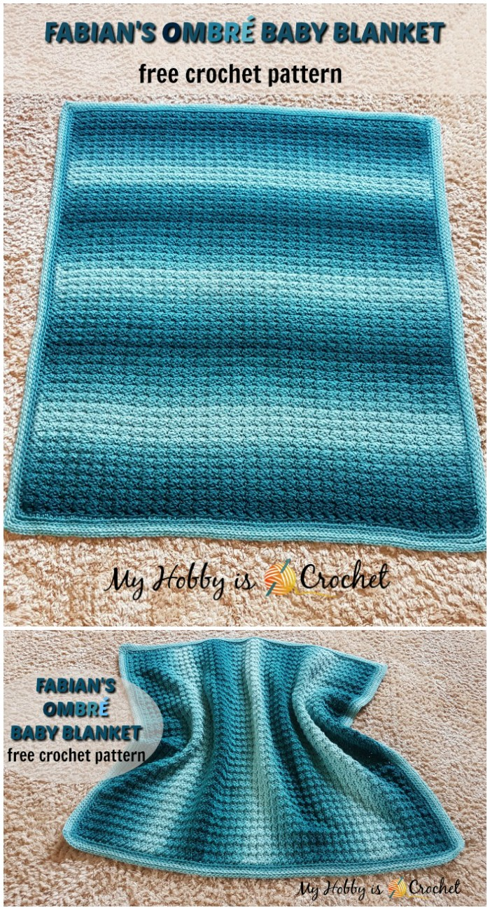 Fabian's Ombré Baby Blanket