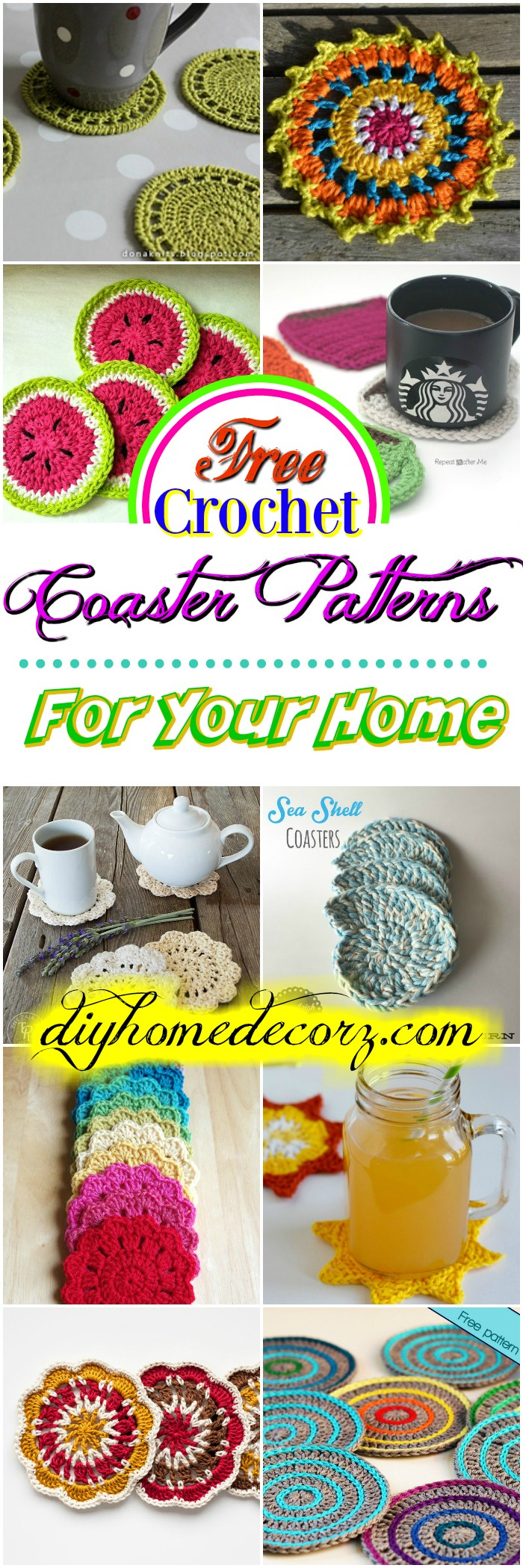 Free Crochet Coaster Patterns Free Crochet Coaster Patterns For Your Home