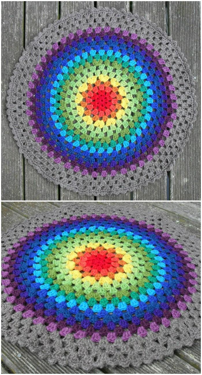 Granny Mandala Stunning Free Crochet Mandala Patterns