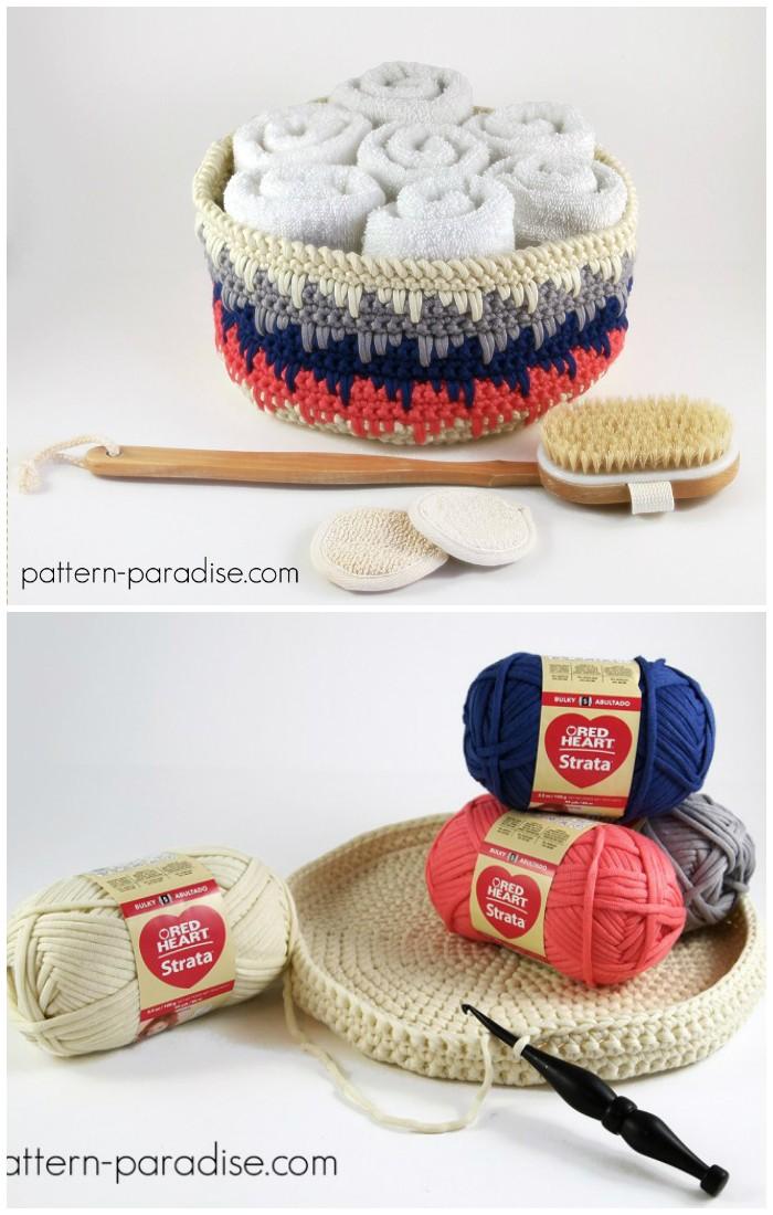 Himalayan Basket Free Crochet Pattern