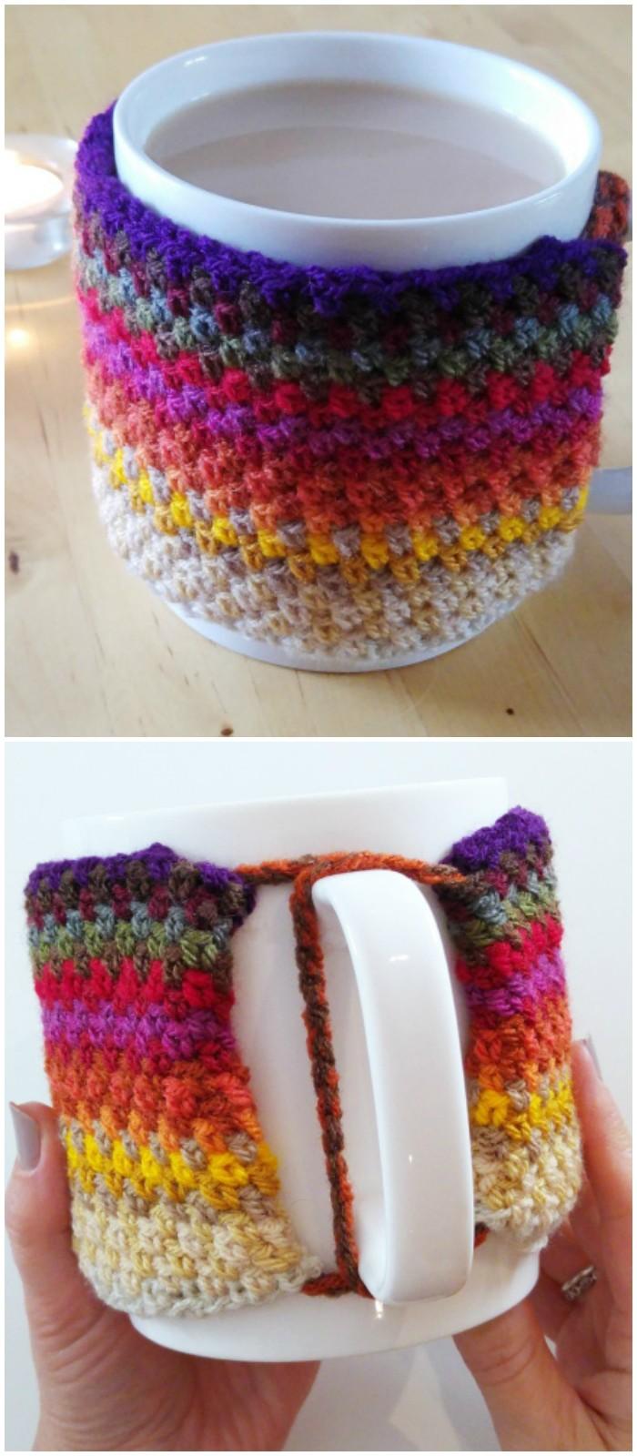 Ombré Crochet Free Pattern - crochet cozy