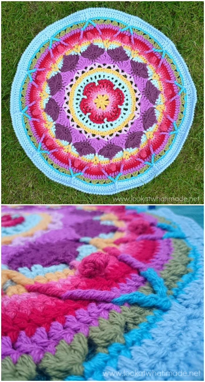 Sophie's Mandala Stunning Free Crochet Mandala Patterns