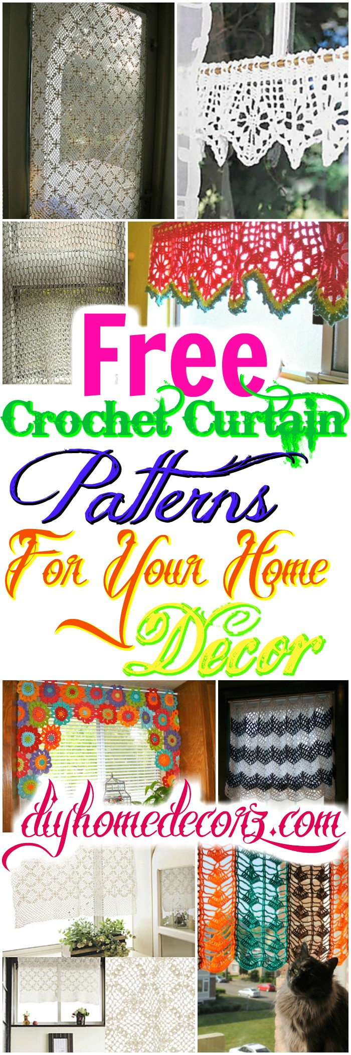 Crochet Curtain Patterns Free Crochet Curtain Patterns For Your Home Decor