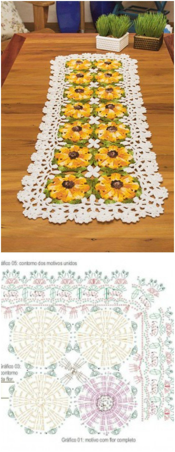Gorgeous crochet table runner free patterns diy home decor free crochet table runner pattern gorgeous crochet table runner free patterns ccuart Choice Image