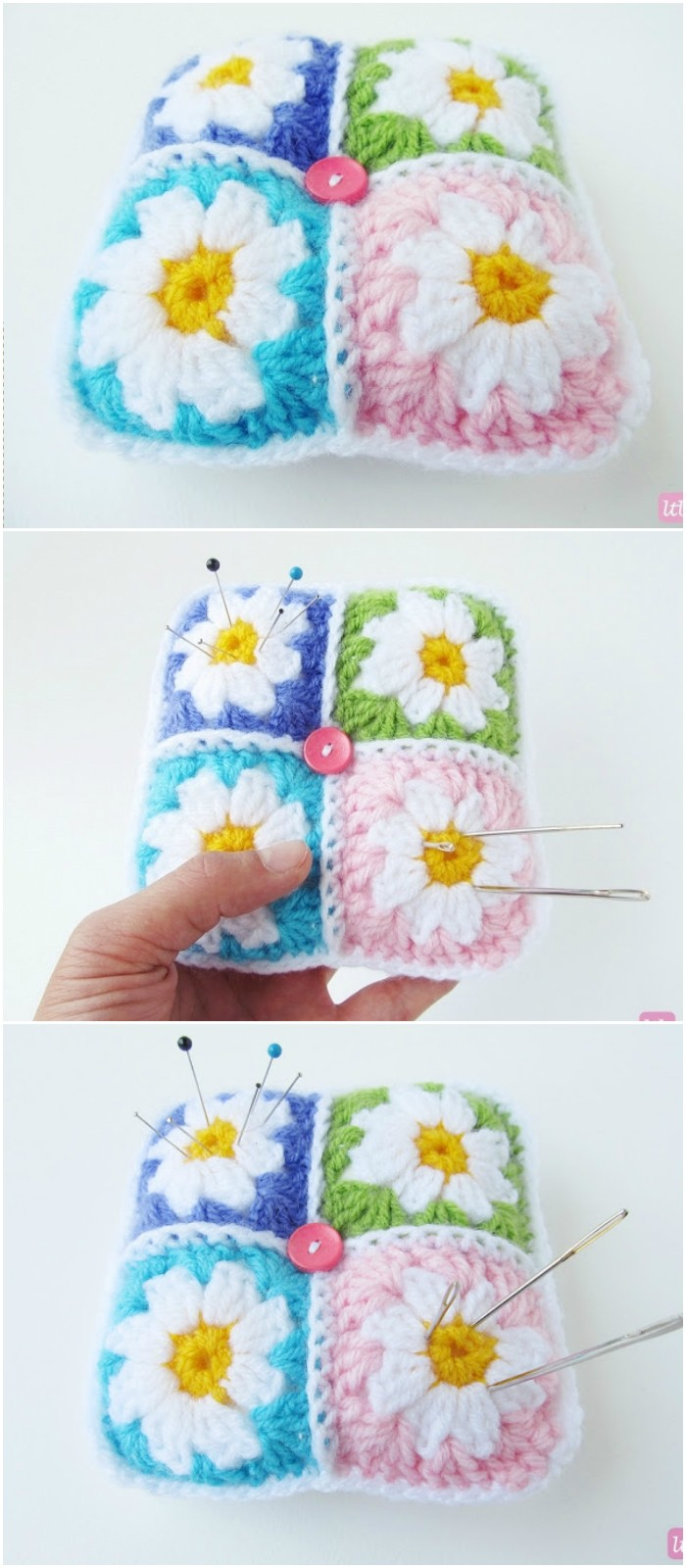 20 Crochet Flowers Pattern To Beautify Your Home • DIY Home Decor