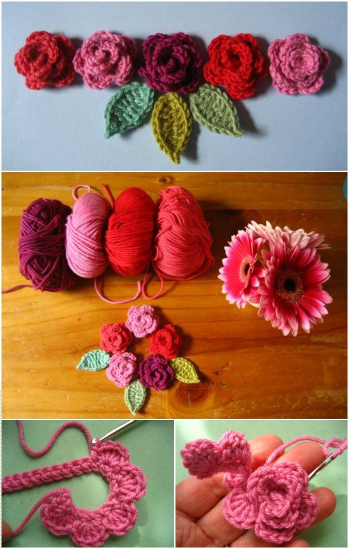 Rosy Crochet