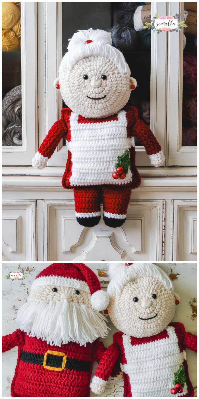 Crochet Mrs. Claus