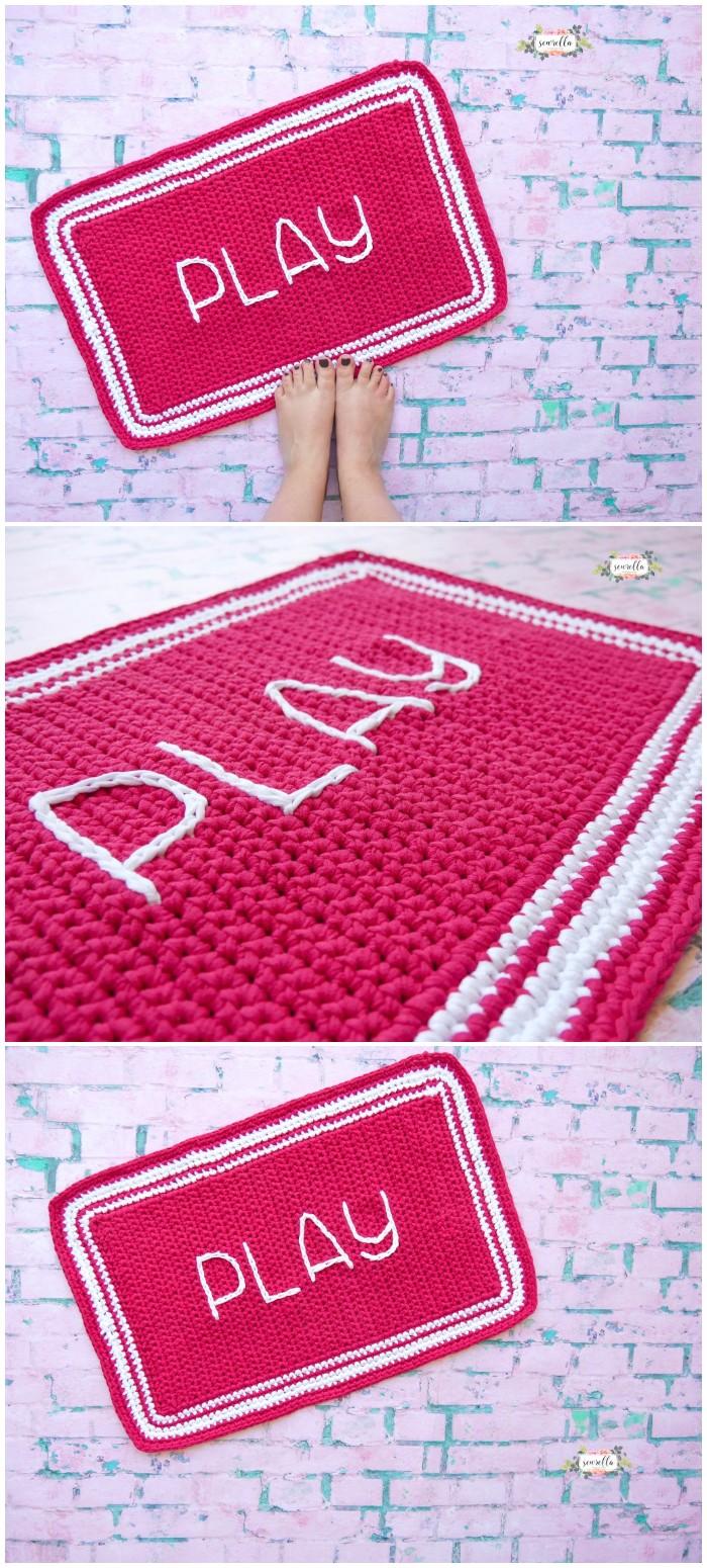 Crochet Outdoor Rug