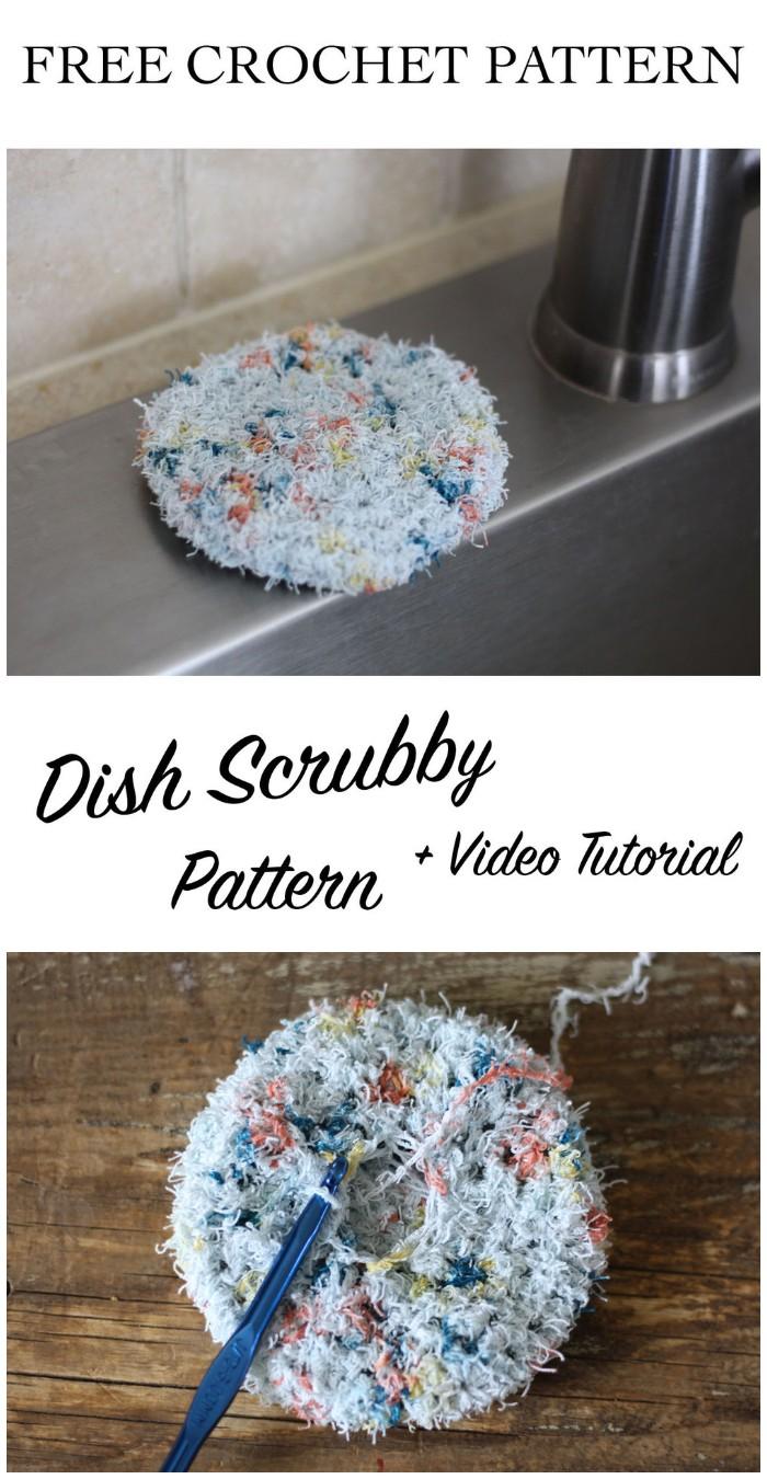 Dish Scrubby - Free Crochet Pattern