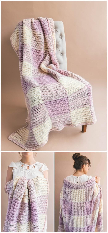 Homemaker Crochet Throw