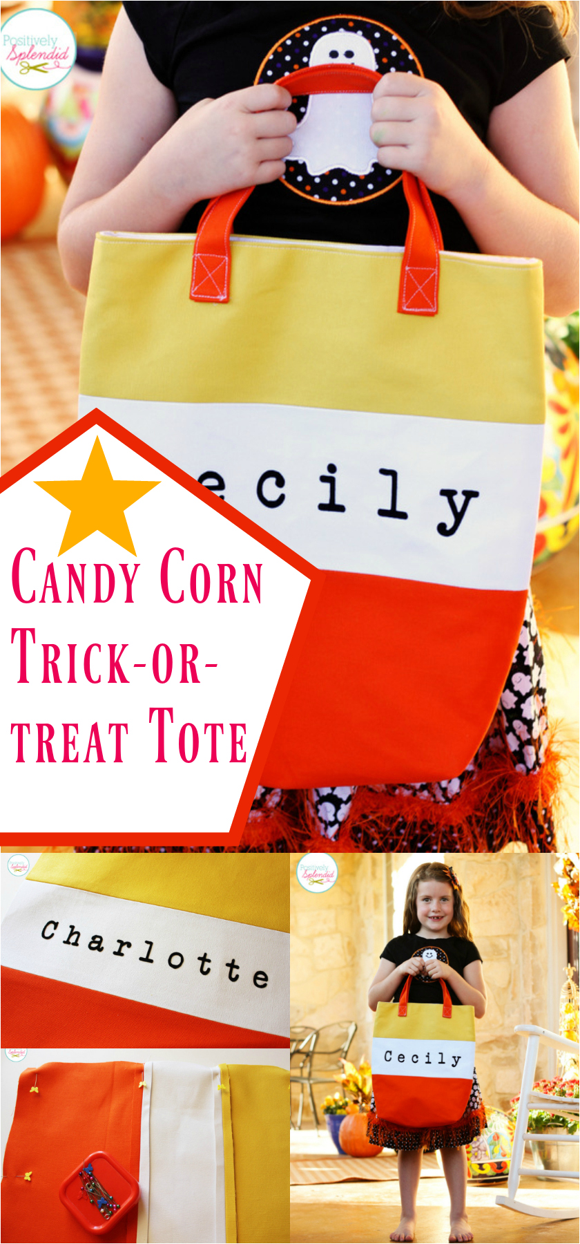 Candy Corn Tote