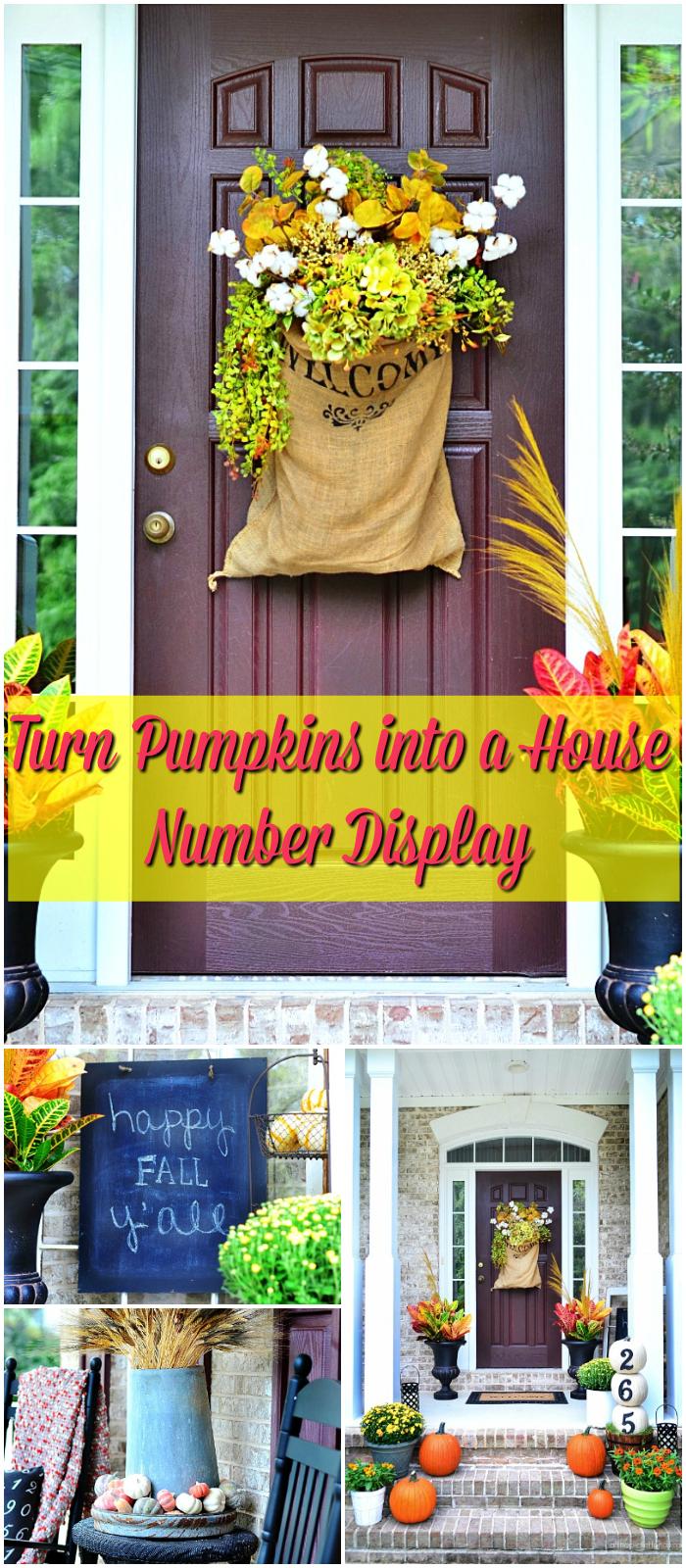 House Number Display