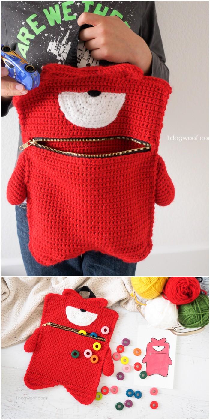 Pouch Crochet Pattern