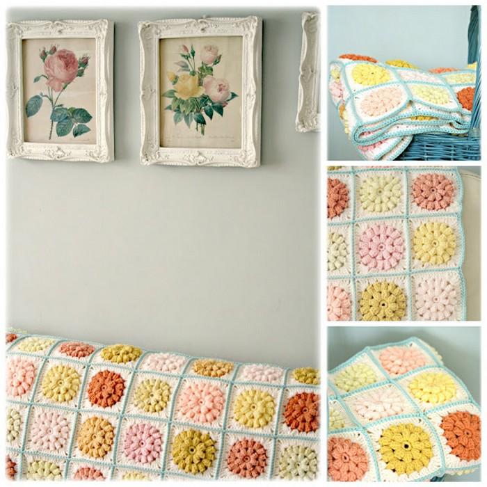 Squares Blanket Free Pattern